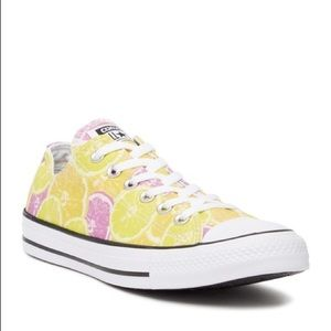 Converse All Star citrus print shoes
